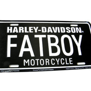 Harley License Plates